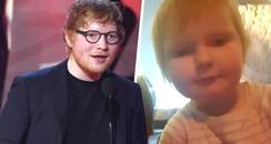 Ed Sheeran Reacts To Baby Ed Sheeran
