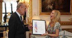 Kylie Minogue Prince Philip Britain-Australia Awar