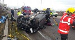 Peterborough Car Crash