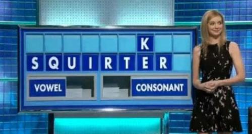 Rachel Riley countdown rude word