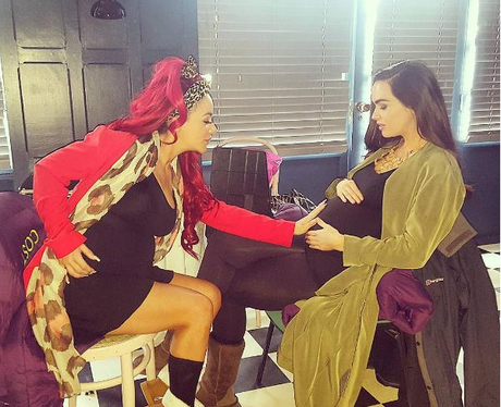 Hollyoaks Chelsee Healey Amp Jennifer Metcalfe Compare Baby