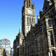 Manchester town Hall Albert Square