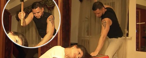 Would You Dare? Watch Terrifying Moment Hairdresse