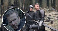 David Beckham King Arthur Trailer Canvas