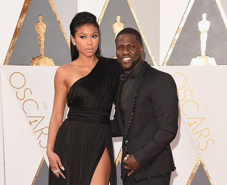 Kevin Hart and Eniko Parrish: Getty