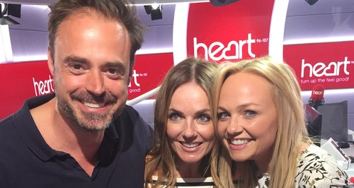 Geri Halliwell With Jamie And Emma