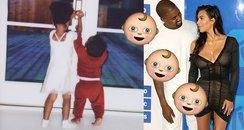 Kim and Kanye Surrogate