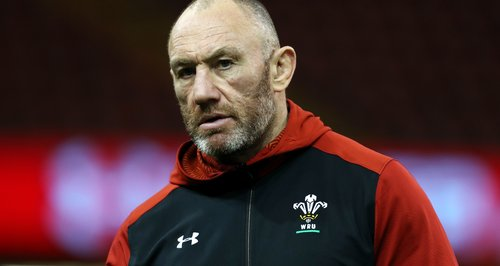 Wales coach Robin McBryde