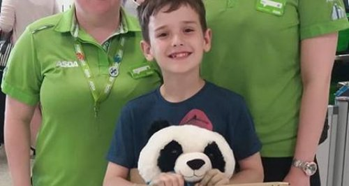 Little Boy Leaves Adorable Note On Bear In ASDA Af