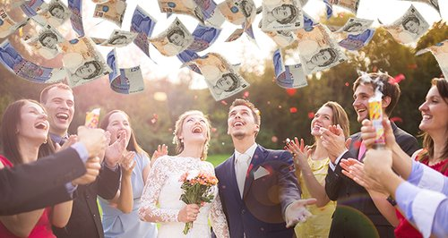 The Average Brit Spends This Much On Being A Weddi