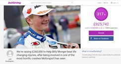 billy monger just giving