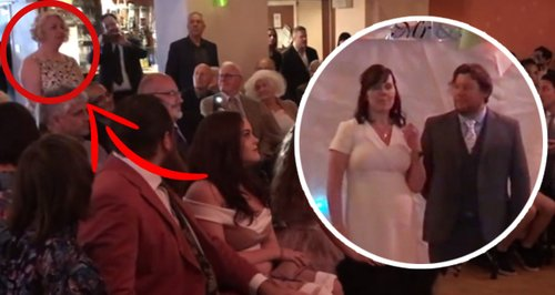 'I Object!' Watch Dramatic Moment Bride And Groom