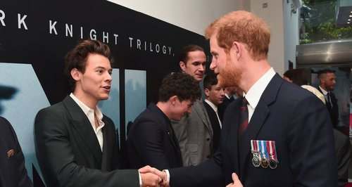 Prince Harry and Harry Styles Dunkirk premiere