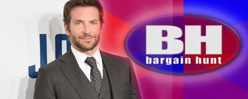 Bradley Cooper Bargain Hunt