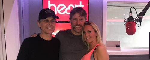 John Bishop meets Robin and Adele
