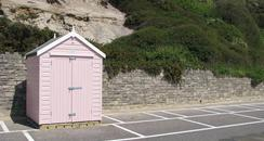 Bournemouth beach hut
