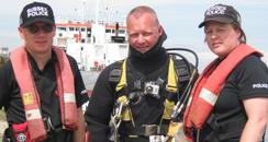 Sussex Police divers