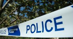Scene of crime police tape